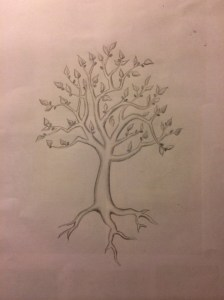 The drawing of the Mulberry Tree
